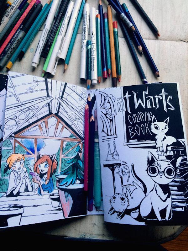 ColoringBooksHogwarts