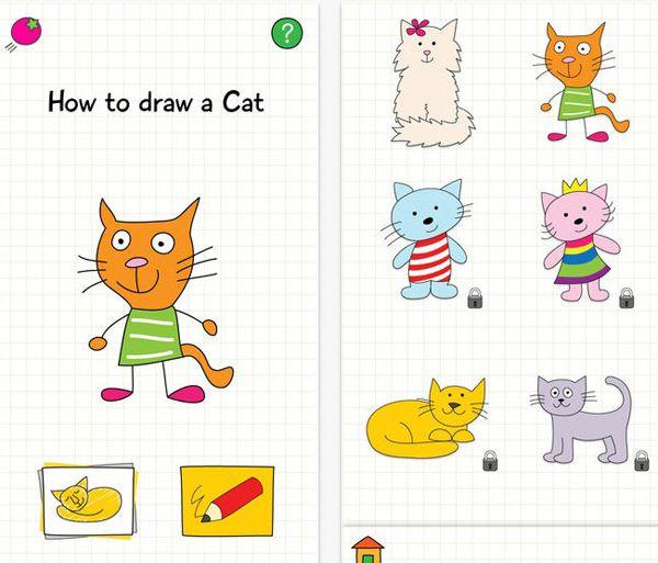 Drawing Cat iTunes
