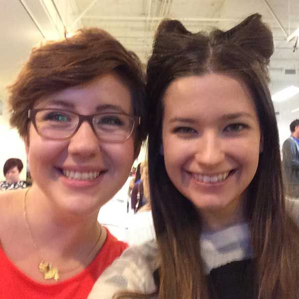 Jenna and Emma, our weekend's Catster Heroes.