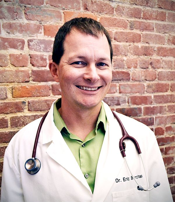 Photo of Dr. Eric Barchas. Photography by Liz Acosta.