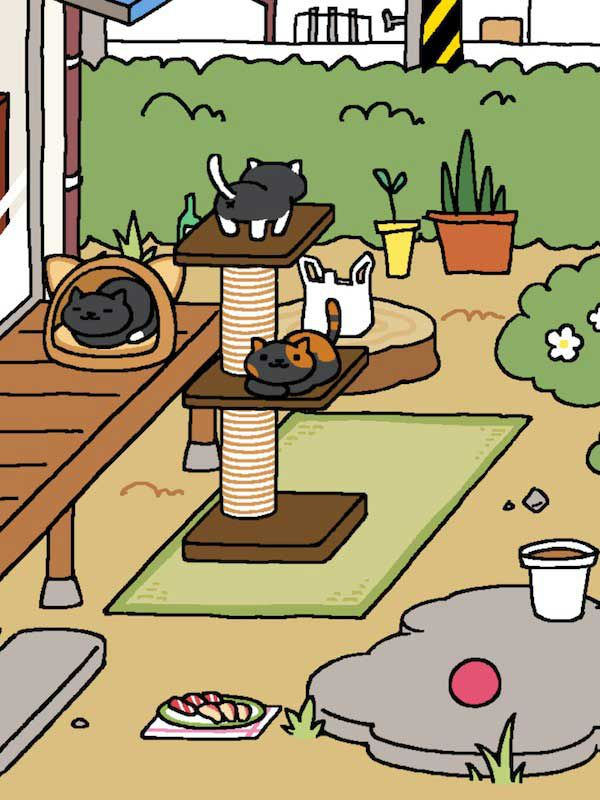 cats-on-3-tier-tower