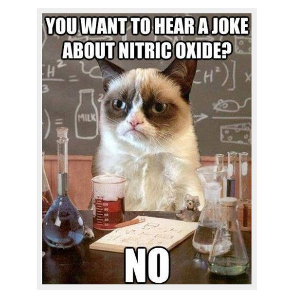 nitric oxide no meme posted by grumpicat