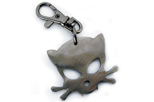 Outlaw Kritters' Kitty Keychain.