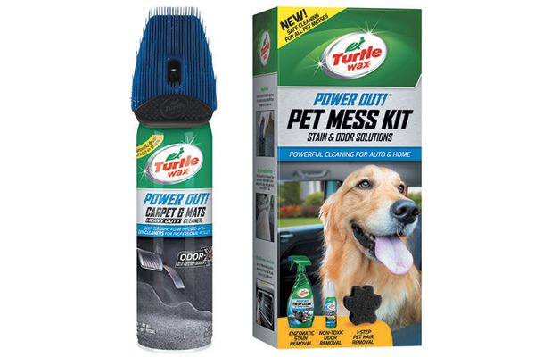 Turtle Wax Power Out! Carpet & Mats Cleaner/Pet Mess Kit.