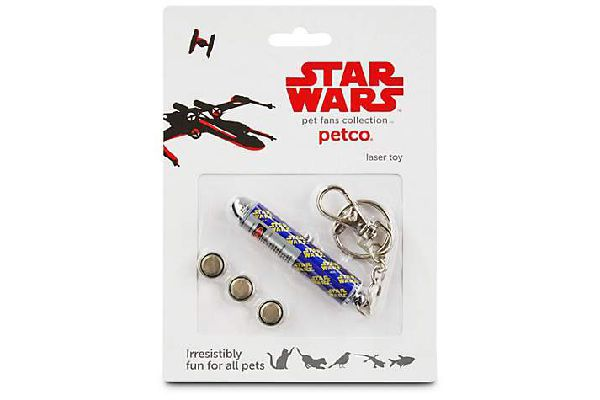 Star Wars Laser Toy for Pets, Petco ($2.49). petco.com
