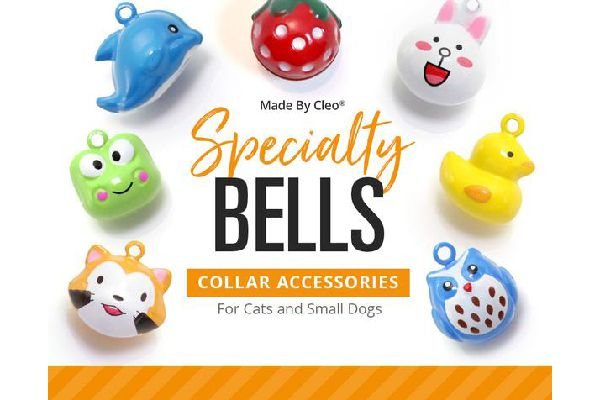 Specialty Pet Collar Jingle Bell, Made By Cleo ($3.95).