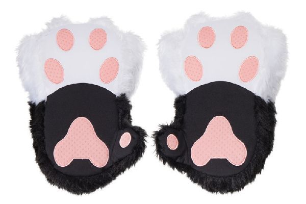 ThinkGeekTwitchy Kitty Paw Slippers.